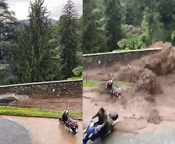 Powódź w Como. Włosi walczą z wodą i błotem wdzierającym się do domów