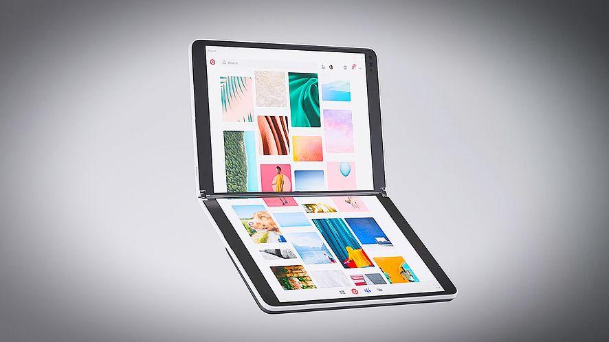 Surface Neo to pierwsze urządzenie jakie ma wyjść z Windows 10X, fot. Microsoft