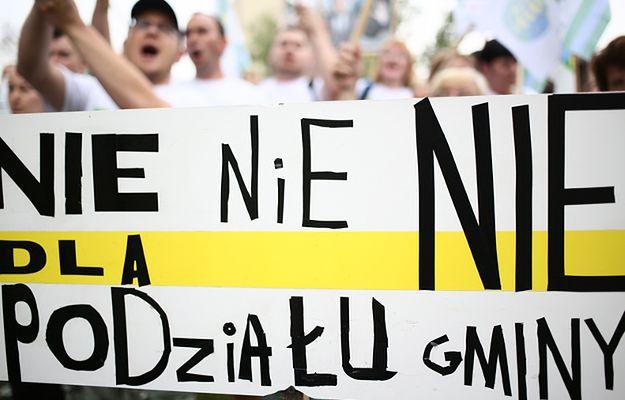 Głodówka w Dobrzeniu Wielkim w proteście ws. powiększenia Opola o część gminy