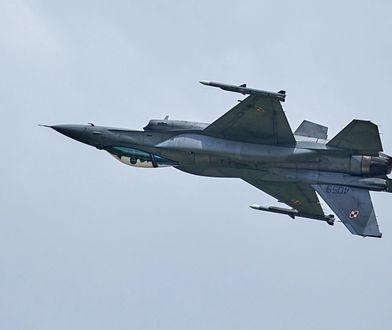 Polskie F-16 przekroczyły próg 100 tysięcy godzin nalotu