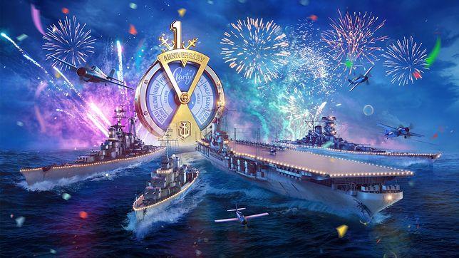 World of Warships Blitz: Urodzinowe aktywności i prezenty dla graczy!