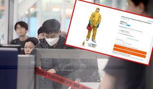 W internecie można dostać już nawet kombinezony, które mają chronić przed koronawirusem