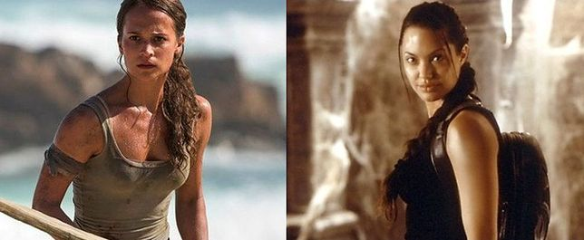 "Alicia Vikander jako Lara Croft w ""Tomb Raider"""