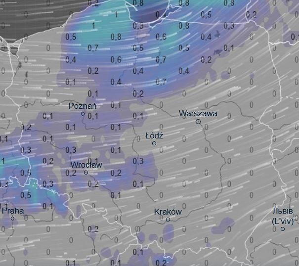 Bardzo silny wiatr, opady i spadające ciśnienie. Na Pomorzu bardzo niebezpiecznie
