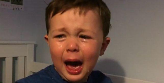 Dlaczego chłopiec wpadł w taką rozpacz?