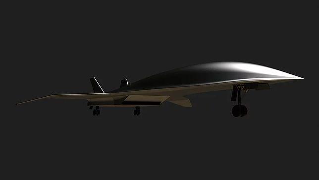 Tak może wyglądać samolot Hermeus
