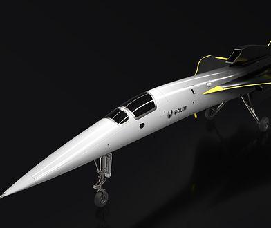 Wizualizacja samolotu XB-1