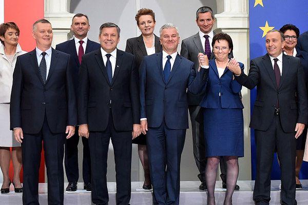 Premier Ewa Kopacz prezentuje nowy rząd