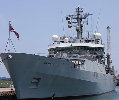 Rosja wysłała fregatę na Morze Azowskie. Reakcja na ruch NATO