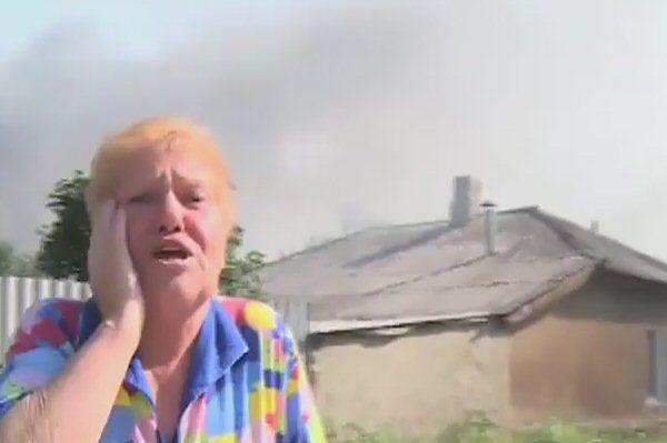 """Dramat cywilów. """"Niech cię diabli, Poroszenko"""""""