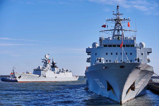 Chińskie okręty