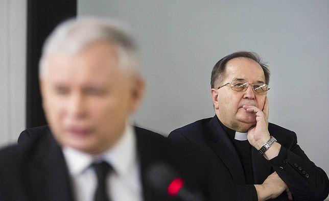 Ojciec Rydzyk przekłada wajchę. Rządzący politycy ostro krytykowani w studiu TV Trwam