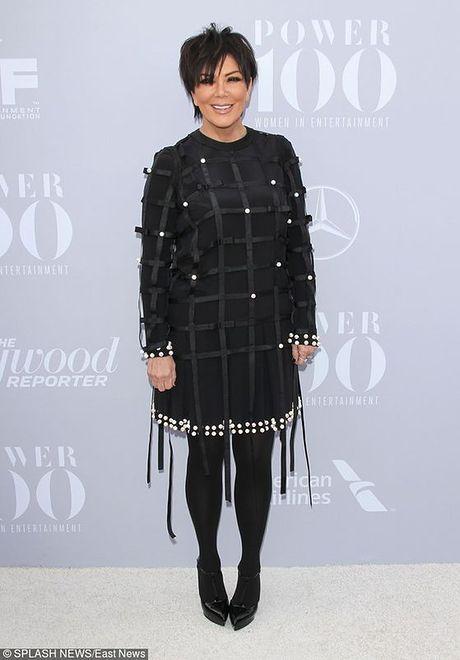 Kris Jenner na imprezie Women In Entertainment