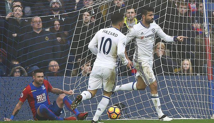 648d0cfd8 Derby Londynu dla Chelsea. The Blues pokonali na wyjeździe Crystal Palace 1: 0, odnosząc 11. zwycięstwo z rzędu w Premier League. Aktualnie ich przewaga  nad ...
