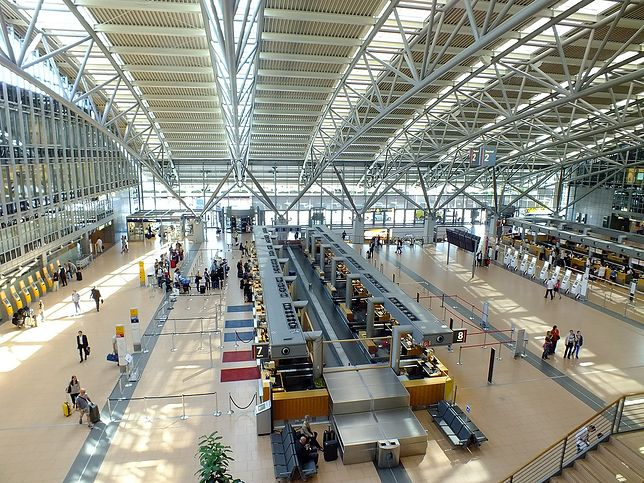 Hala lotniska w Hamburgu