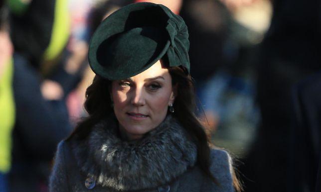 Kate Middleton o swojej świątecznej kreacji. Nie była z niej zadowolona