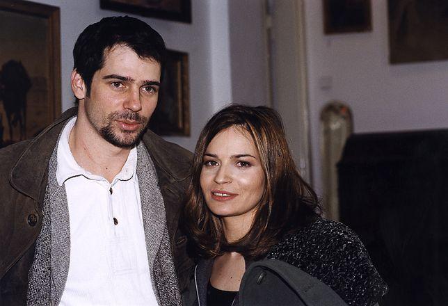 Dorota Deląg z bratem Pawłem