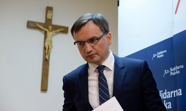 Zbigniew Ziobro przegrał sprawę w sądzie. Ma przeprosić byłą prezes sądu w Krakowie. Możliwe, że odwoła się od wyroku