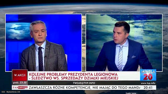 Robert Biedroń w TVP Info