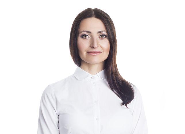 Katarzyna Stachowicz przed zabiegiem chemioterapii