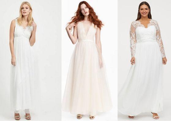 Suknia suknia z sieciówki może być ciekawym rozwiązaniem