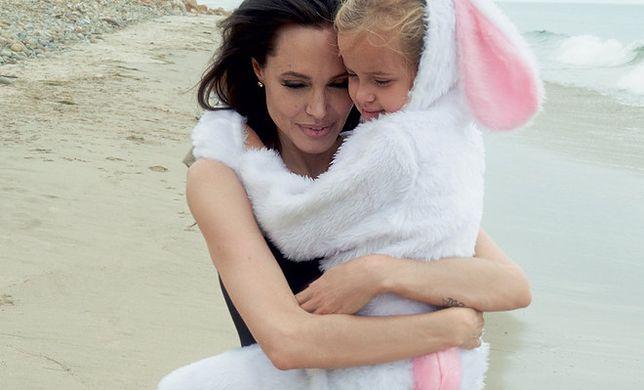 Angelina Jolie i jej rodzina w listopadowym Vogue'u