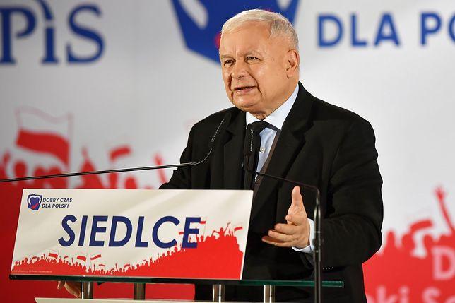 Jarosław Kaczyński w Siedlcach. Zapowiedział utworzenie nowego województwa