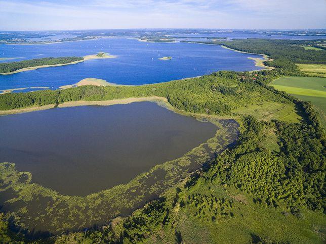 Mazury słyną z jezior