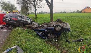 Tragedia pod Rypinem. Kierowcy nie mieli szans po czołowym zderzeniu