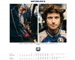 The road to legend - kalendarz Metzelera na 2014