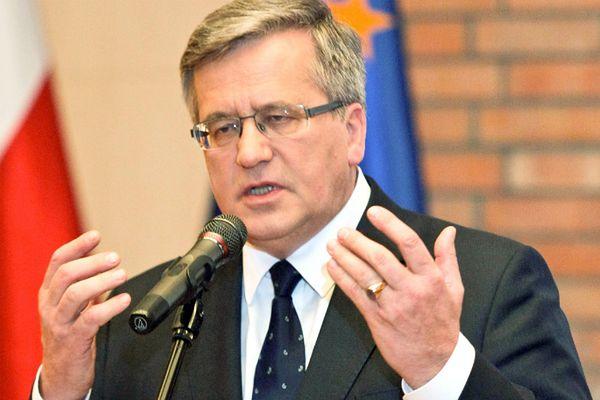 Prezydent Bronisław Komorowski uda się na Ukrainę