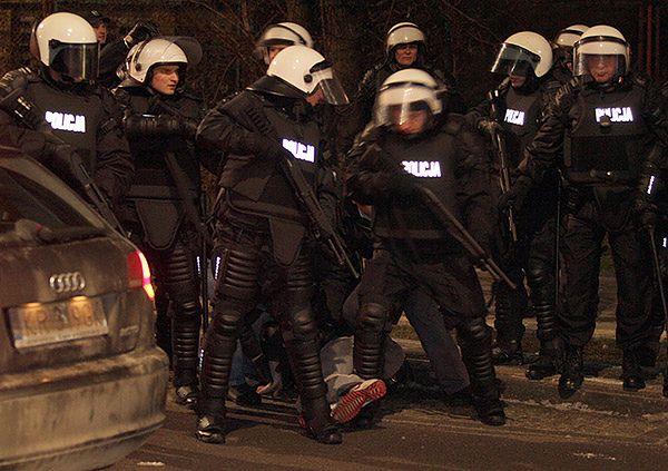Policja interweniuje w Kielcach