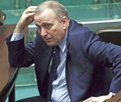 Lider PO Grzegorz Schetyna broni posła Stanisława Gawłowskiego