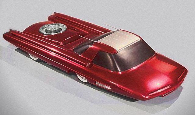 Ford Nucleon: samochód o napędzie atomowym