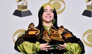 Billie Eilish zdobyła pięć Grammy w sześciu nominowanych kategoriach