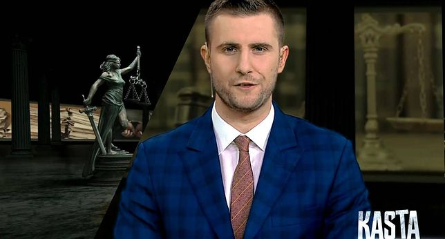 """Miłosz Kłeczek - gospodarz programu """"Kasta"""" w TVP Info"""