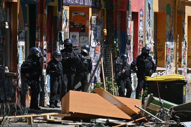 Zamieszki w Berlinie. Są ranni policjanci