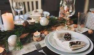Zobacz, jak w prosty sposób udekorować świąteczny stół