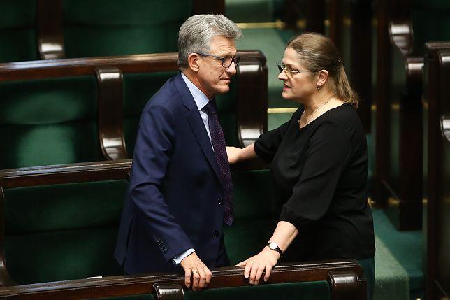 Krystyna Pawłowicz i Stanisław Piotrowicz zostali wybrani do Trybunału głosami PiS w czwartek