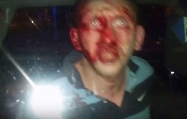Policjanci w cywilu pobili mężczyznę w Słupsku. Uwaga: drastyczne sceny