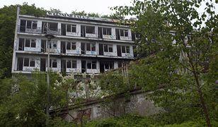 Sanatorium w Orłowie popada w ruinę od piętnastu lat