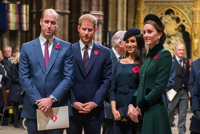 Książę William, książę Harry, Księżna Meghan i księżna Kate