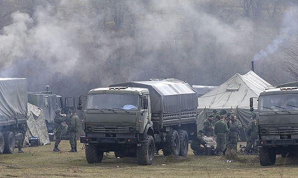 Rosyjskie wojska zajęły posterunek straży granicznej na zachodzie Krymu
