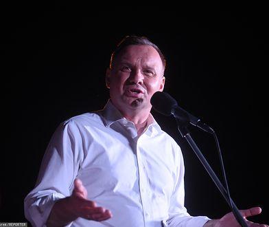Wybory prezydenckie. Andrzej Duda złożył nową obietnicę. Emerytury dla strażaków OSP