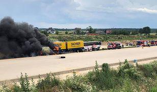 Wypadek na DK1. Kierowca cysterny usłyszał zarzut