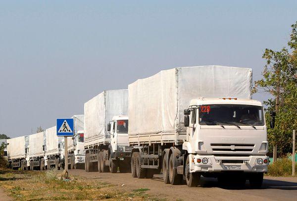 Rosyjska pomoc humanitarna dotarła do Ługańska. Jeszcze dziś ciężarówki wrócą do Rosji