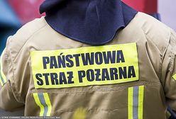 Pożar w Krakowie. Ogień w rozlewni gazu w Nowej Hucie