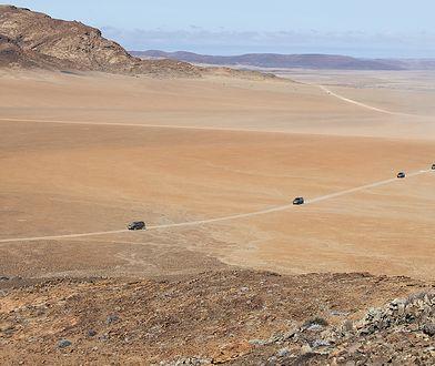 Afryka zza kierownicy. Statki na pustyni i martwe kaniony to tylko początek
