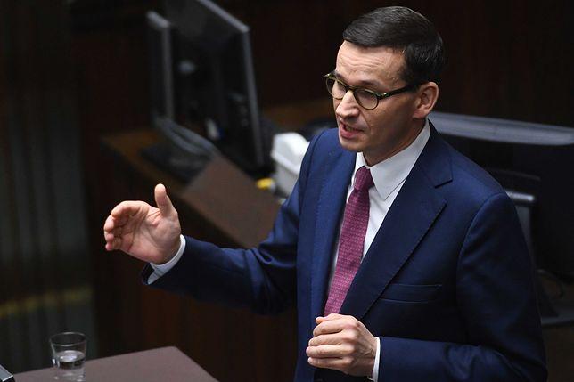 Rząd premiera Mateusza Morawieckiego otrzymał wotum zaufania