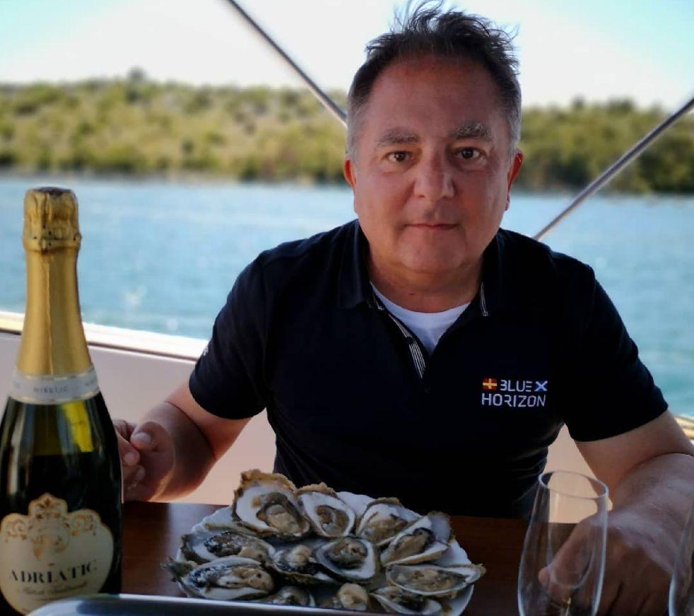 Robert Makłowicz od kilku lat spędza wakacje w swoim domu w Dalmacji